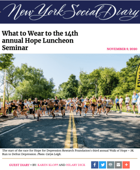 NYSD Hope Luncheon Seminar