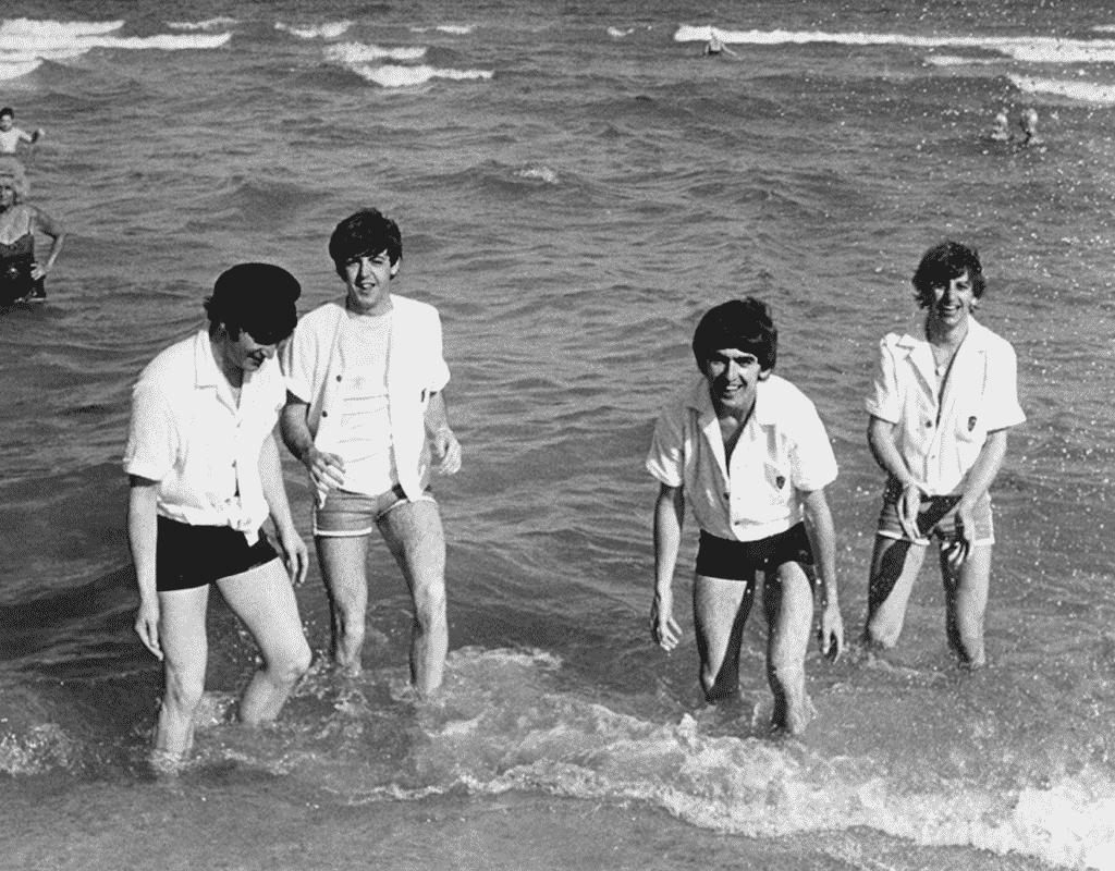 Quest Magazine, Harry Benson with the Beatles