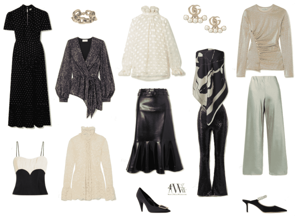 Hilary Dick festive dressing.  What to wear entertaining at home.