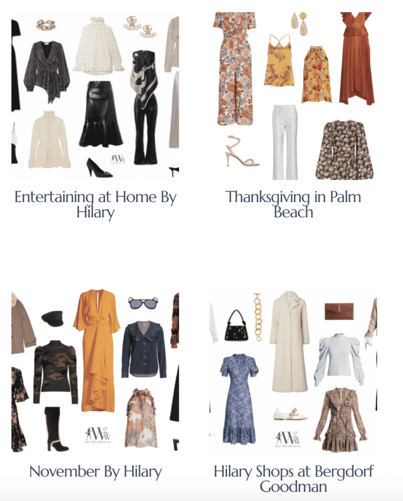 Fashion Editor Hilary Dick selects her favorite holiday fashion.