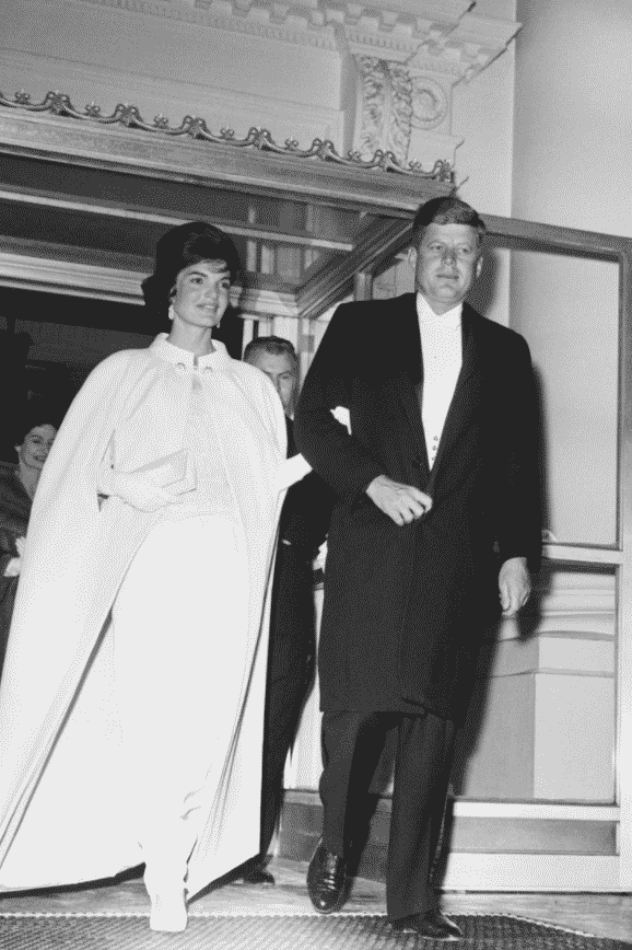 Town & Country Magazine. John and Jackie Kennedy inauguration.