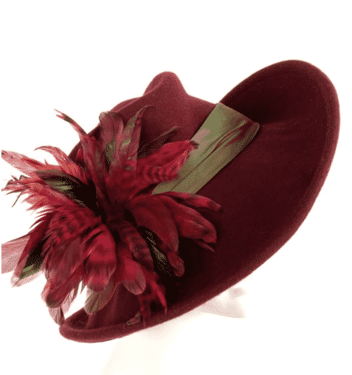Swan & Stone felt hats made in Vermont.