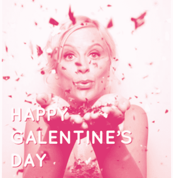 Karen Klopp and Hilary Dick article for New York Social Diary, New York Won't you be my Valentine?