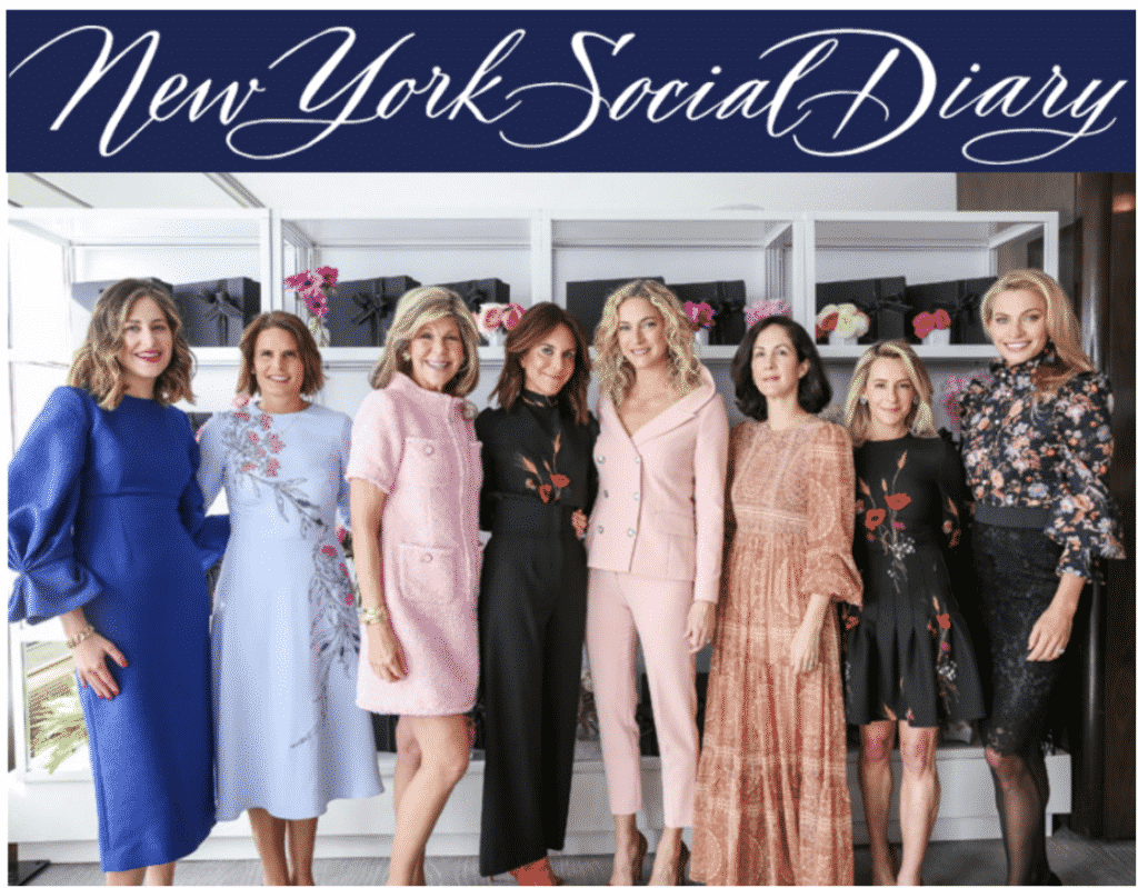 New York Social Diary article, karen klopp, hilary dick, the society memorial sloan kettering cancer society.