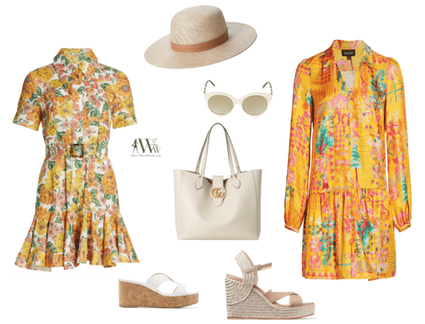 What to wear to a charity luncheon, Karen Klopp shops at Worth ave stores Palm Beach.
