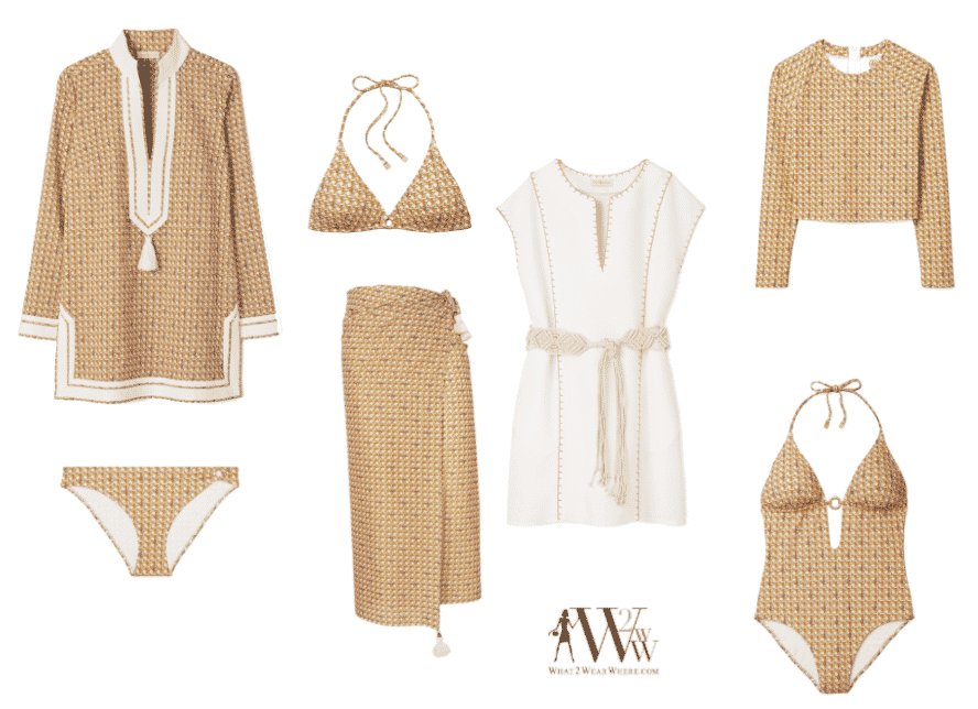 What to wear karen klopp picks best Tory Burch swimwear.