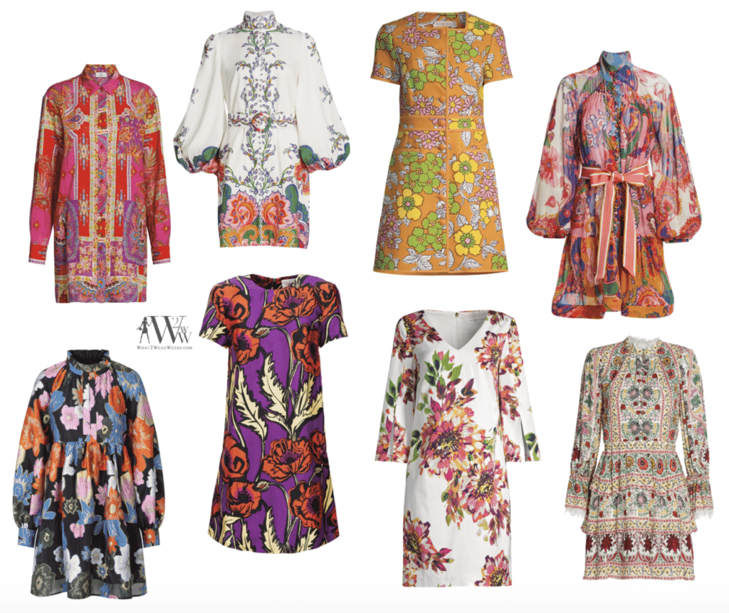 karen Klopp pick the best floral dresses for spring 2021.