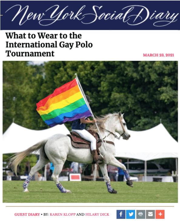 NYSD Gay Polo Tournament