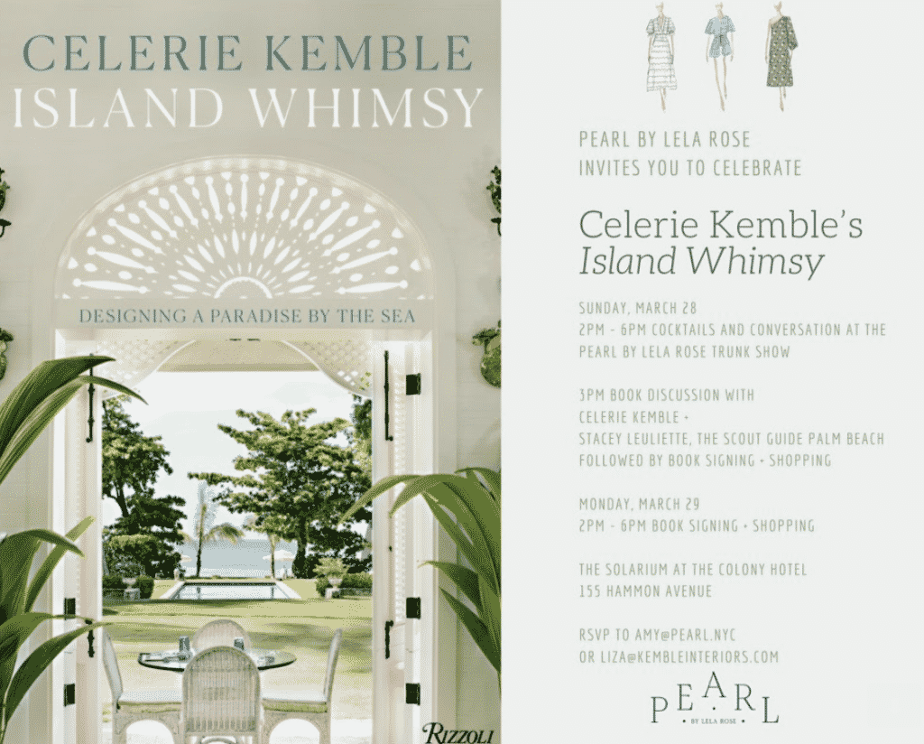 Celerie Kemble, Island Whimsey, Colony Palm Beach,