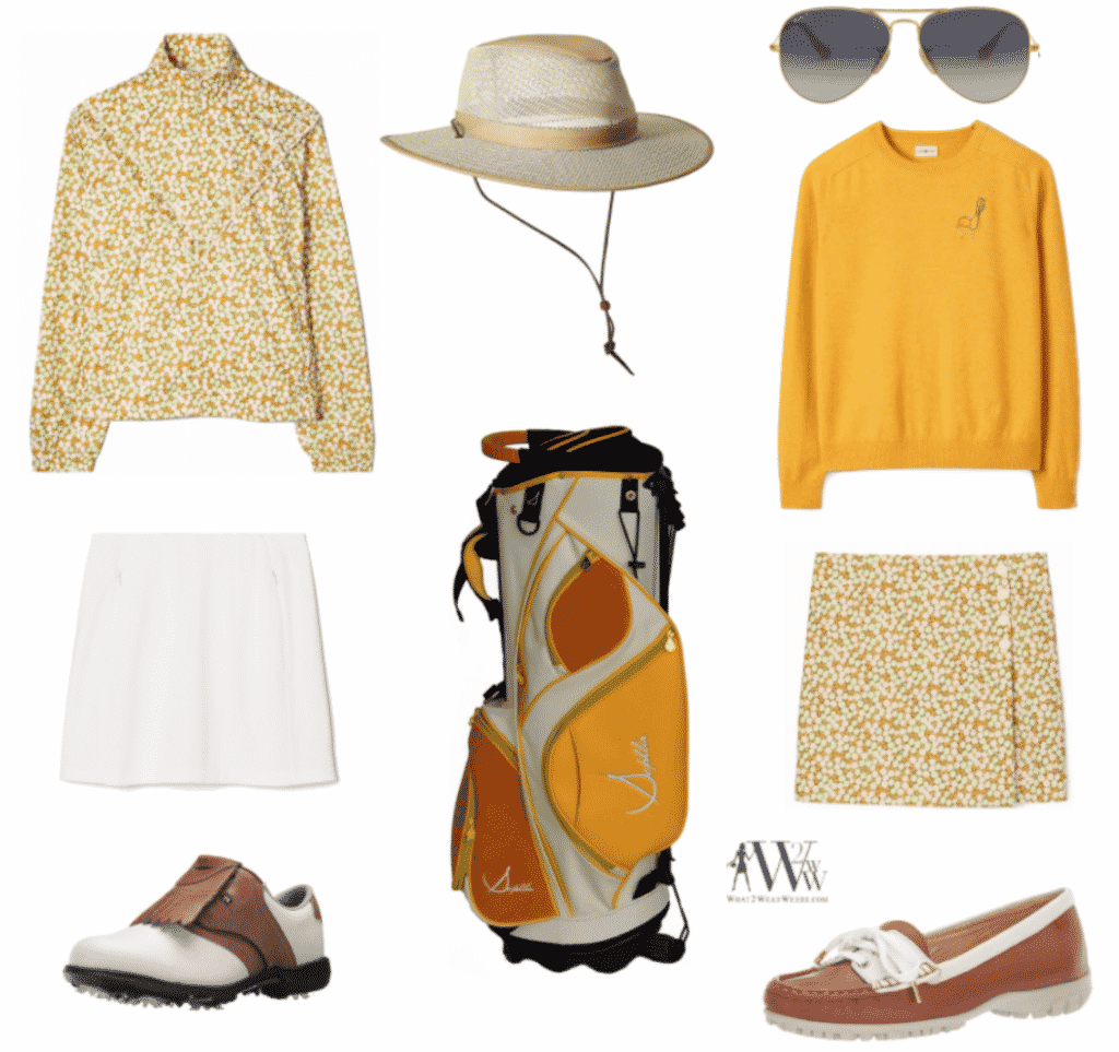 What to wear The Masters Golf Tournament.