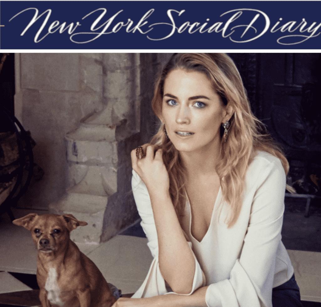 Sustainable fashion, Amanda Hearst, New York Social Diary