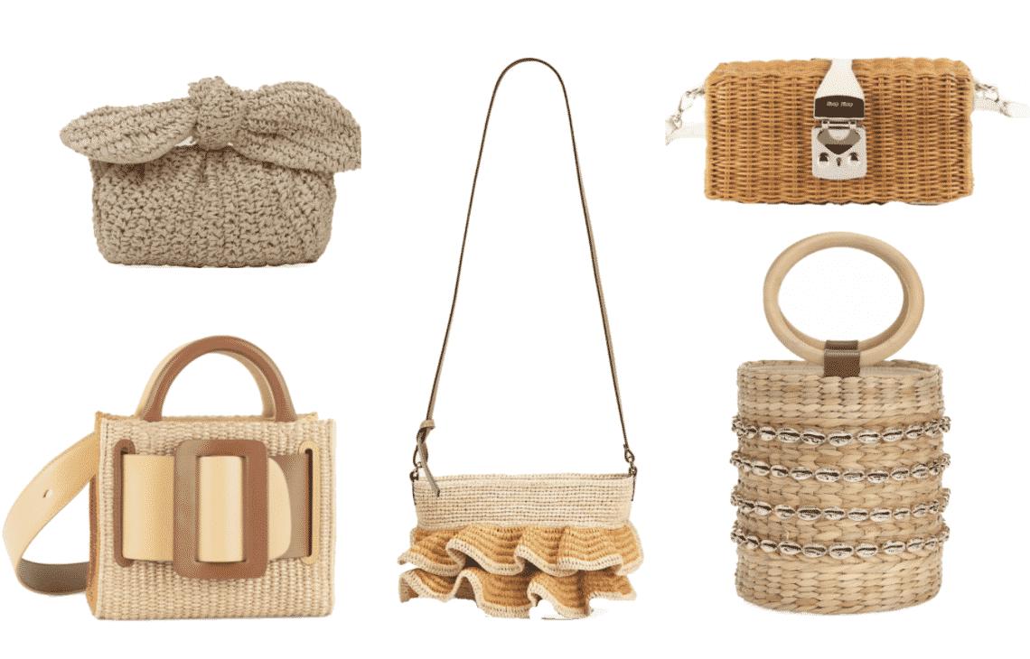 Raffia Summer Bags