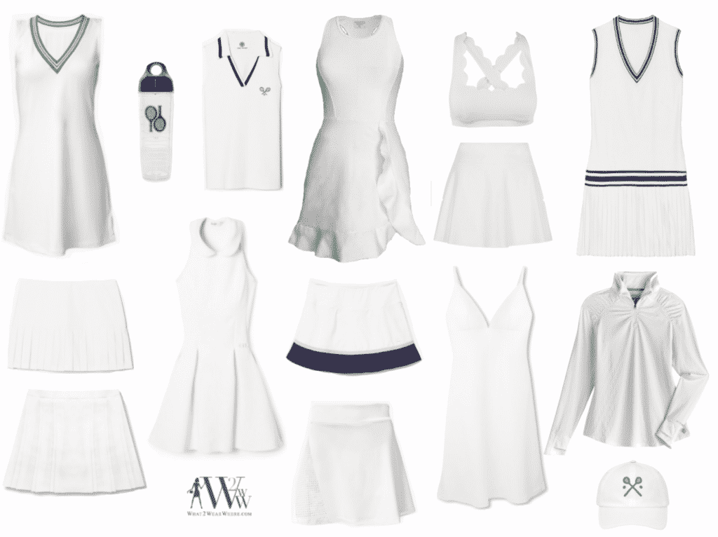 Best tennis clothes for summer 2021 by Hilary Dick for What2WearWhere.com