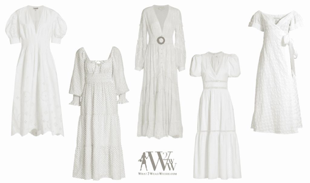 Karen Klopp picks the best white dress for summer 2021
