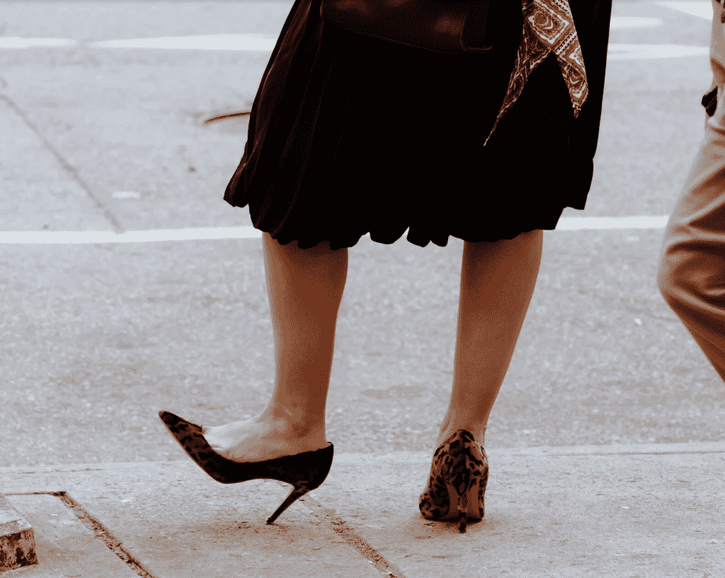 New York Times, High Heels are back.