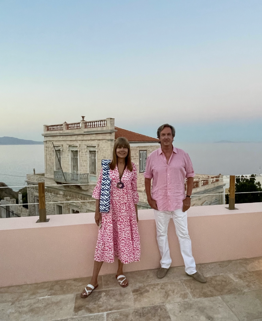 Pam Taylor, Tom Shaffer Greek Isles.