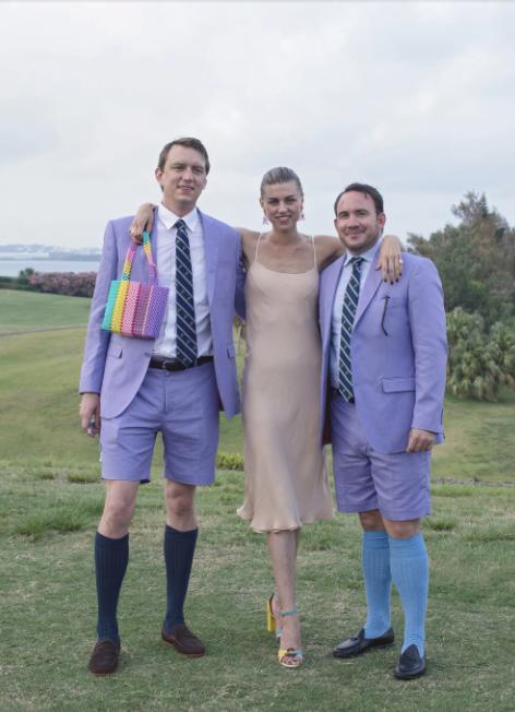 Adam Klopp and Meghan Horstman, Wedding in Bermuda