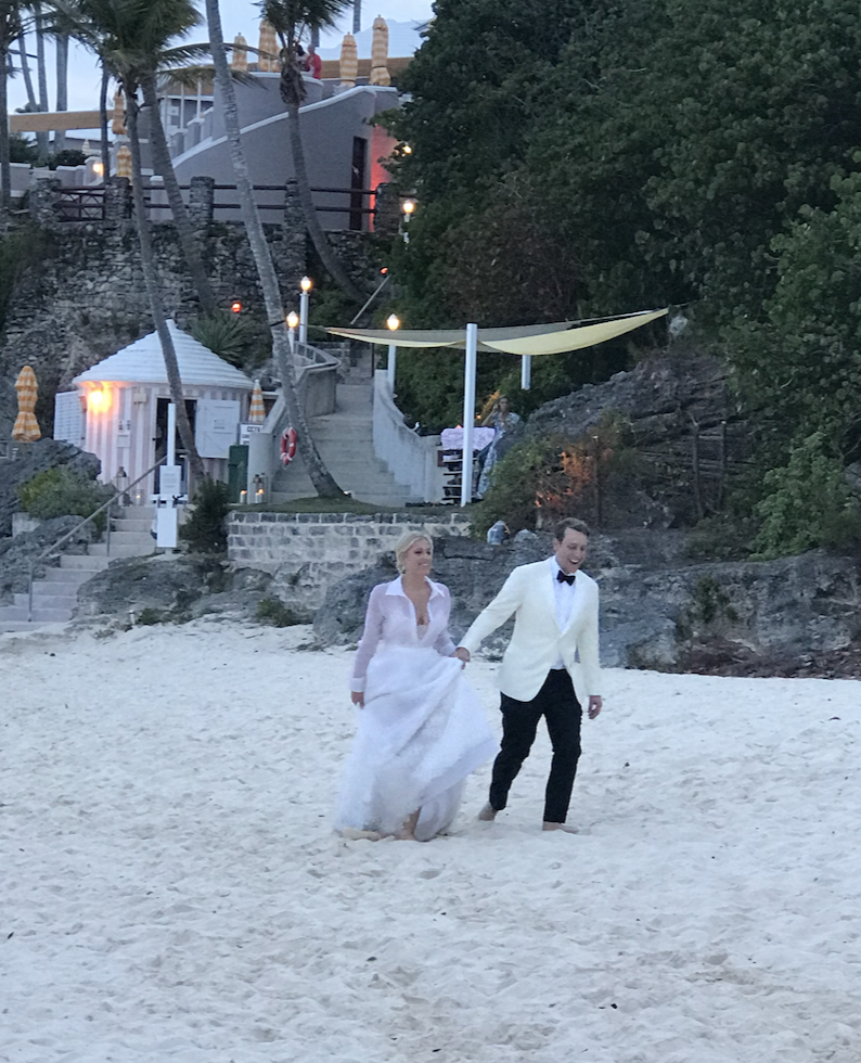Adam Klopp and Meghan Horstmann, Wedding in Bermuda