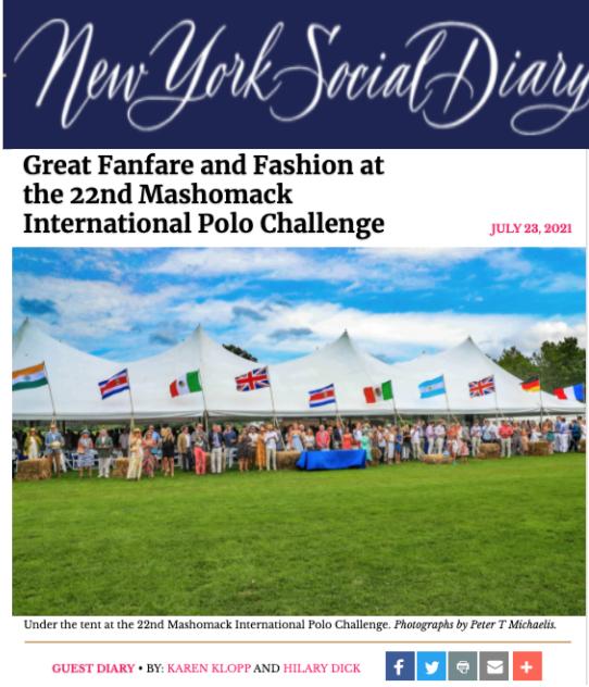 NYSD Mashomack Polo Challenge