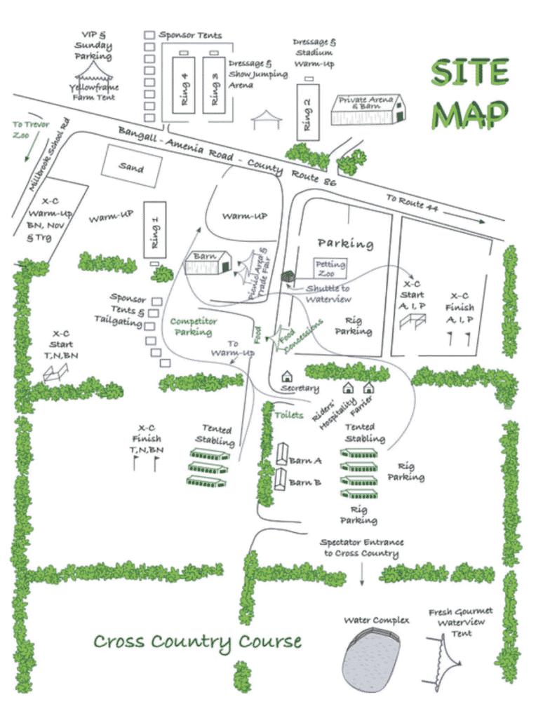 Sitemap, Millbrook hourse trials 2021