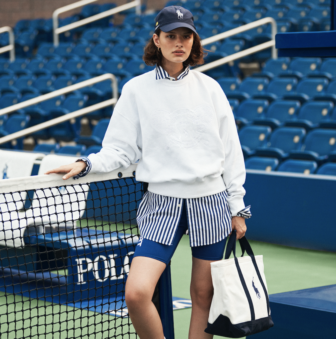 What2wearwhere Karen klopp Weekly Fave 5 Quest  Ralph Lauren celebrates the revival of new york at 2021 US Open championships.