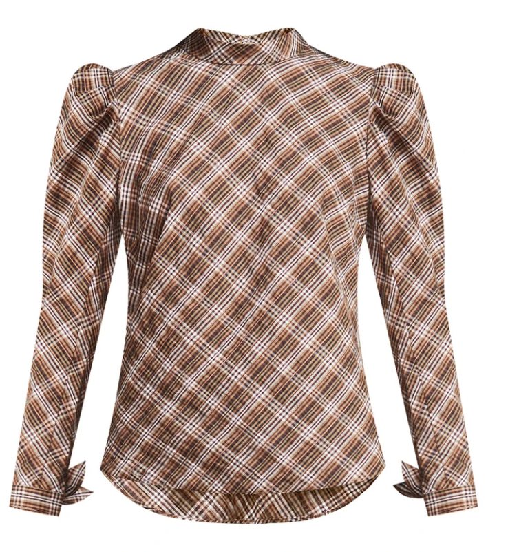 What to wear where, Karen Klopp top choices  for a fall trends on Veronica Beard. Isabel Top.