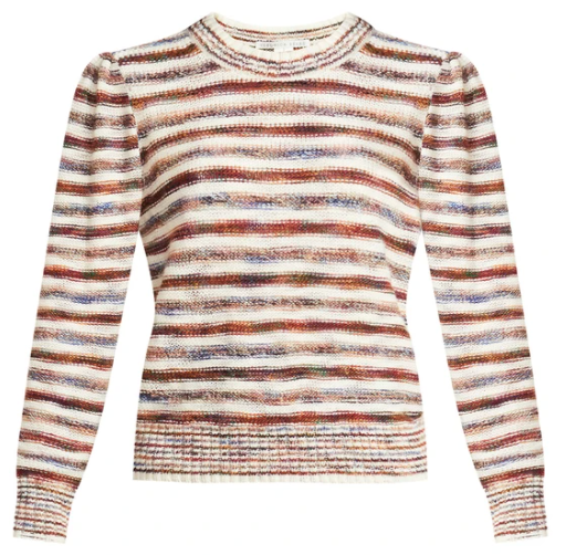 What to wear where, Karen Klopp top choices  for a fall trends on Veronica Beard. Raissa Pillover.