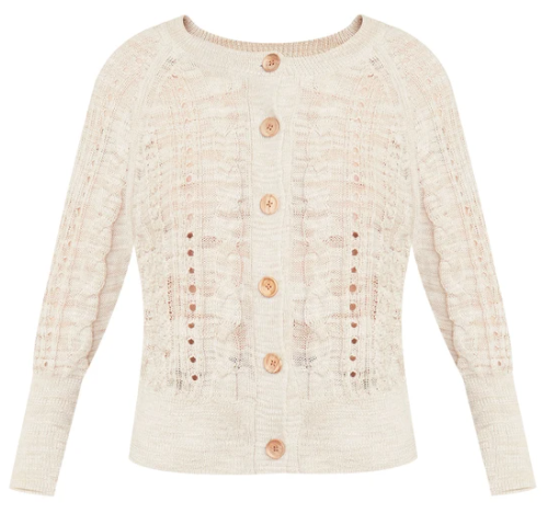 What to wear where, Karen Klopp top choices  for a fall trends on Veronica Beard. Ayeka cardigan.