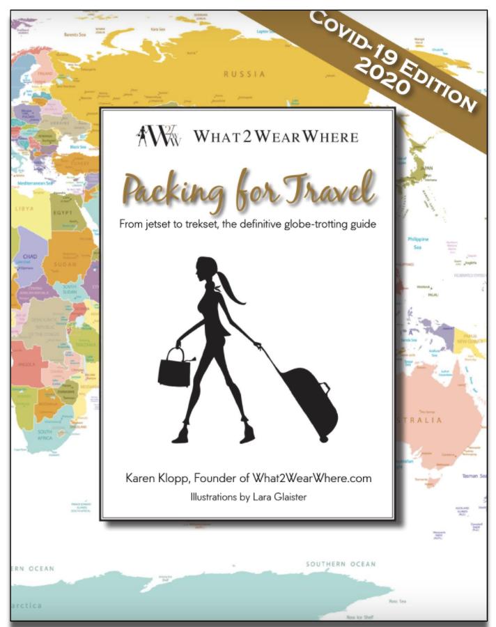 Packing for Travel Covid Edition, Karen Klopp