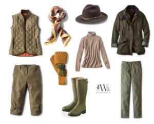 what to wear bird shooting
