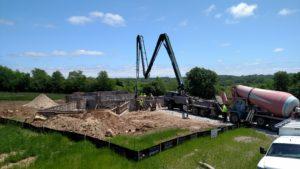 Kohler Ridge New Home Foundation