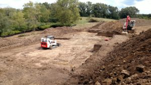 New Home Foundation Excavation Yorkville, WI