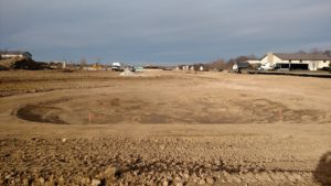 Overall Site at Midwest Form with Pond