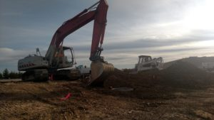 Site Utility Installation at Midwest Form