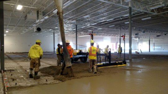 Ligchine Laser Screed at Floor & Decor Brookfield Concrete Flatwork