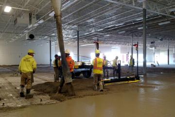 Commercial Building Concrete