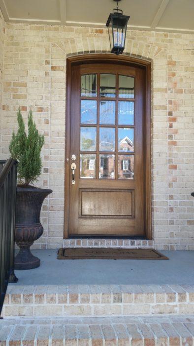 8' Custom Oak door unit