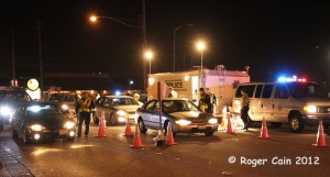 DUI Checkpoint on Spruce Avenue