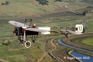 1909 Bleriot XI Replica by Eric Presten Photo By Roger Cain