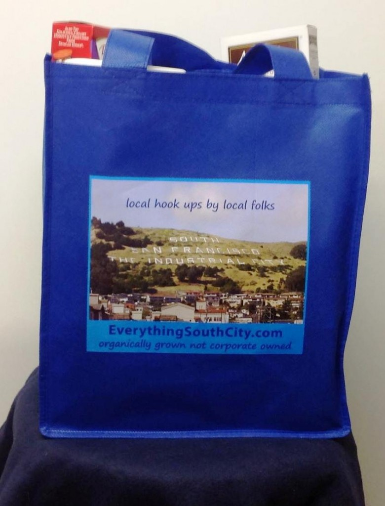 Bring a bit of South City with you wherever you go!  Free to local ESC subscribers while supplies last