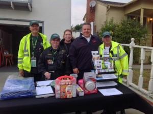 Volunteer members of SSF CERT attend NNO in various neighborhoods Photo: Sonny Koya