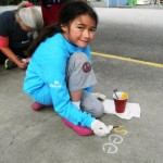 Kaiser MLK Little Girl Painting