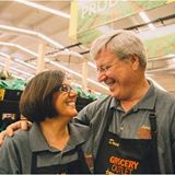 Owners of South City Grocery Outlet, Michelle and David, share 37 years of marriage - and their business!