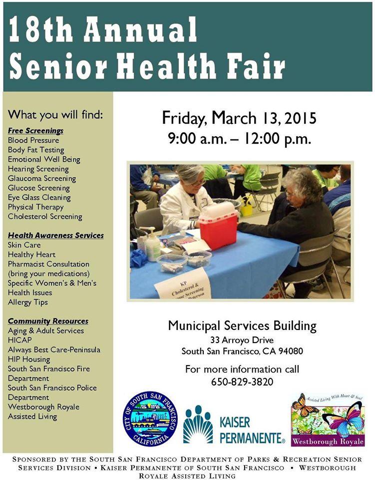 Health Fair 2015 Senior