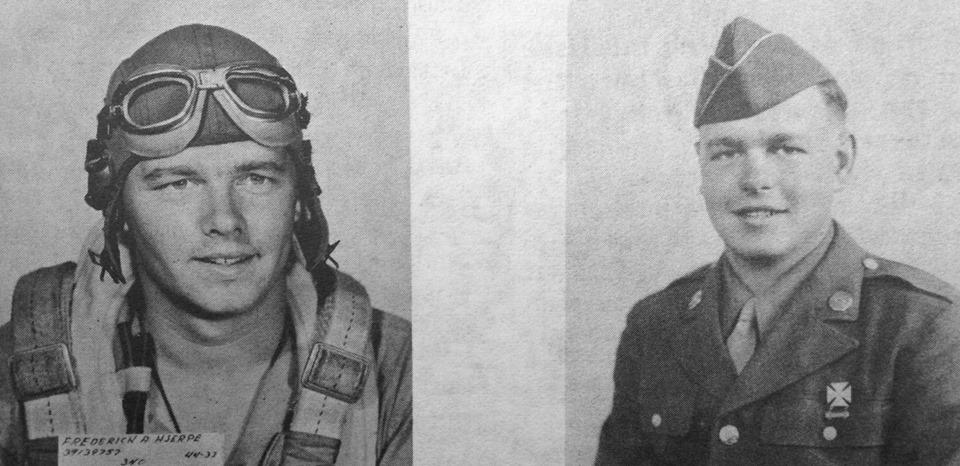 Brothers Fred Hjerpe (left) and Bernard Hjerpe, Jr. (right)