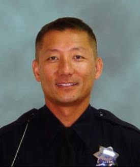 SSFPD have released this photo of Officer Robbie Chon