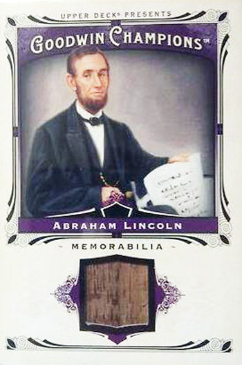 2013-Upper-Deck-Memorabilia-Card-Abraham-Lincoln-White-House-Wood