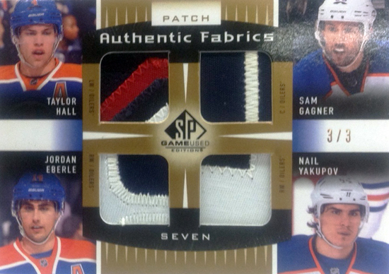 2013-14-NHL-SP-Game-Used-Authentic-Fabrics-Patch-7-Edmonton-Oilers-Front