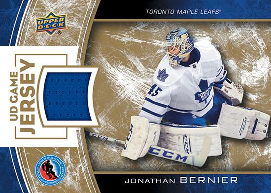 2014-Upper-Deck-Hockey-Hall-of-Fame-Team-Fan-Days-Exclusive-Game-Worn-Jersey-Card-Jonathan-Bernier