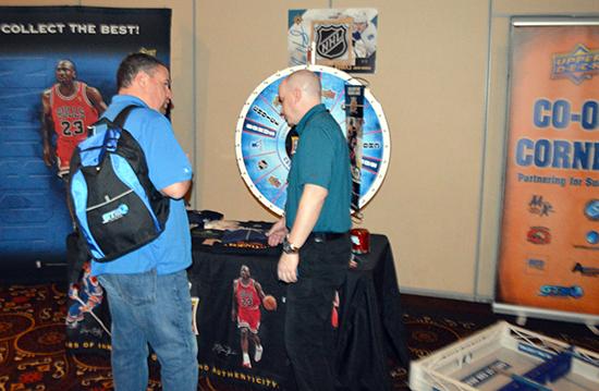 2015-beckett-las-vegas-industry-summit-collectibles-sports-cards-upper-deck-co-op-corner-shop-wheel